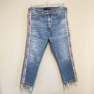 VERONICA BEARD Ines high rise jeans SZ 31